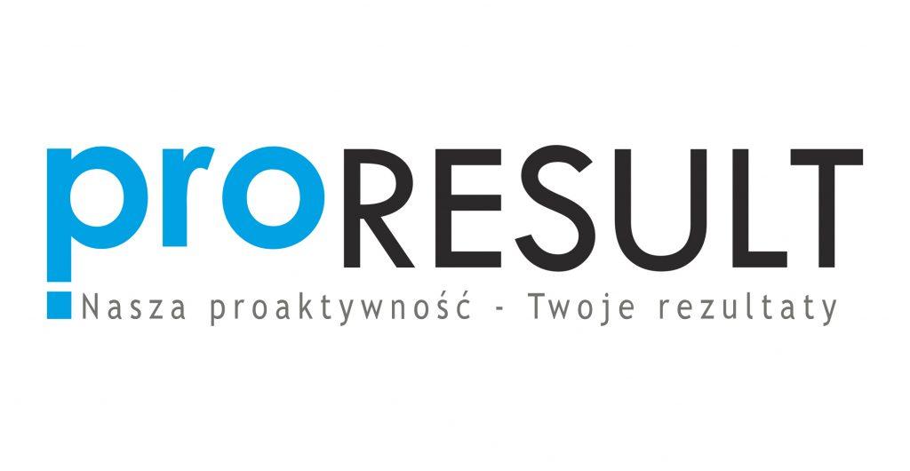 logo Proresult i motto firmy
